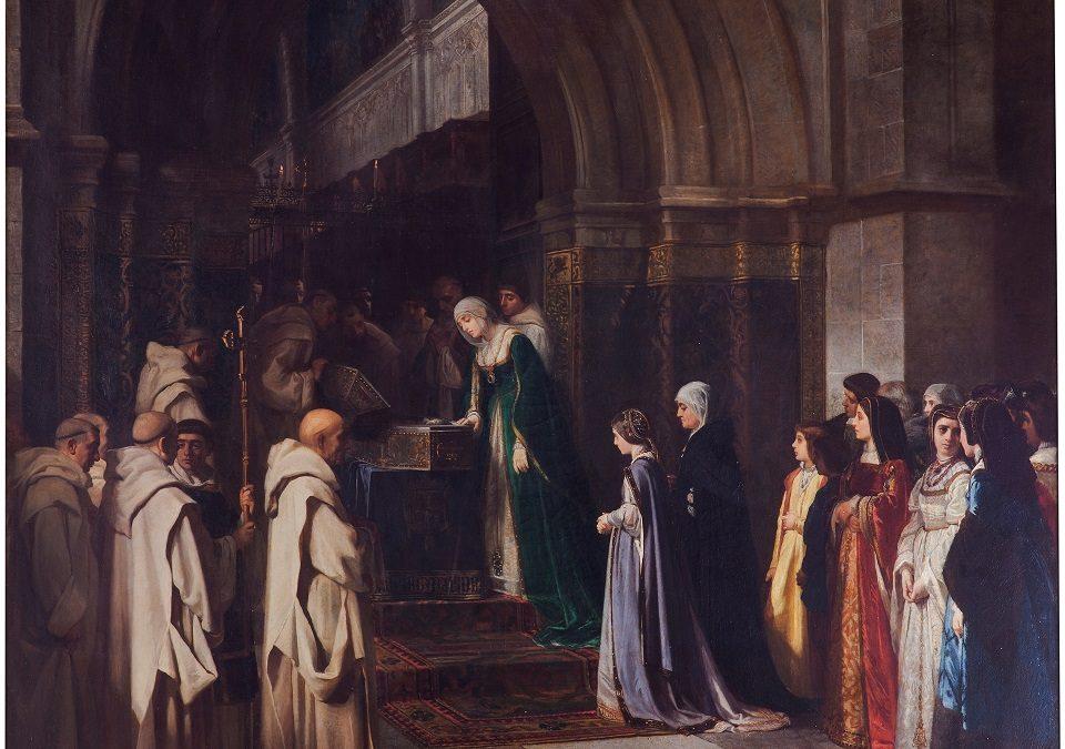 ¿Isabel contemplando el cadáver de su padre?