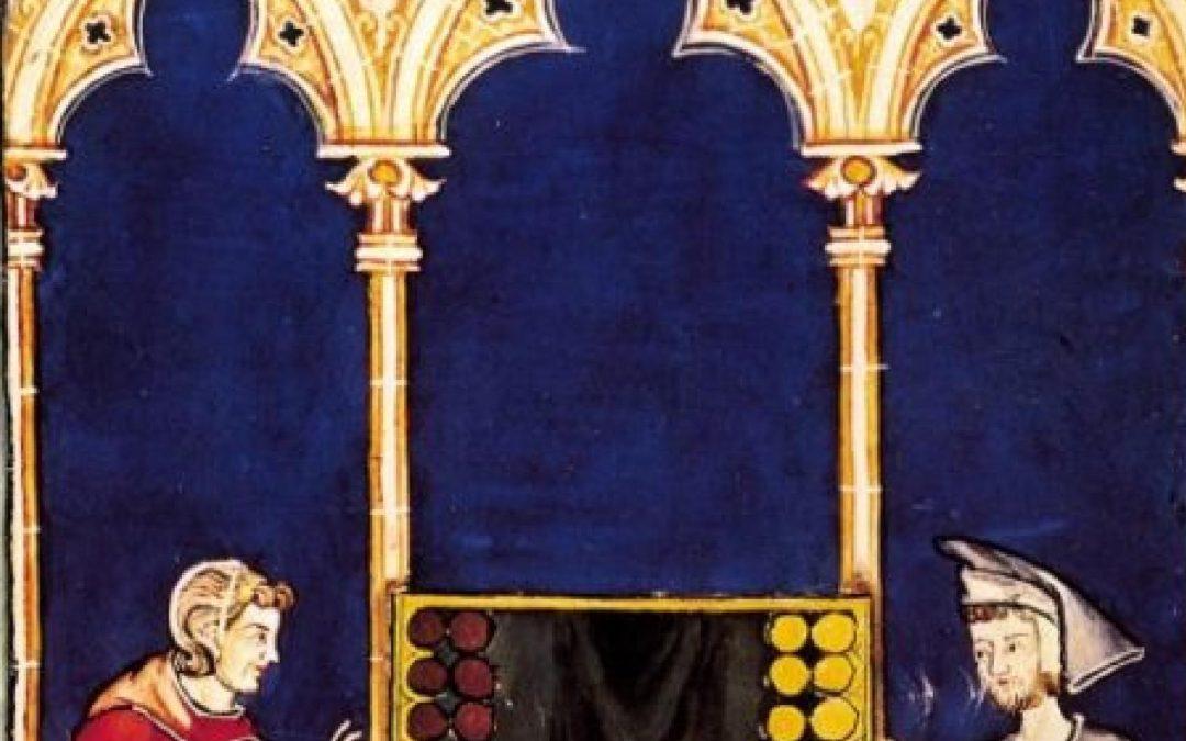 Juegos de azar y de mesa desde el Medievo a la época de los Reyes Católicos.