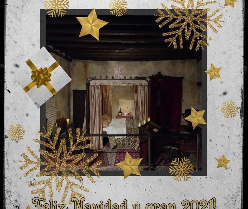 Desde el Palacio Real Testamentario os deseamos… ¡Feliz Navidad y un GRAN 2021!
