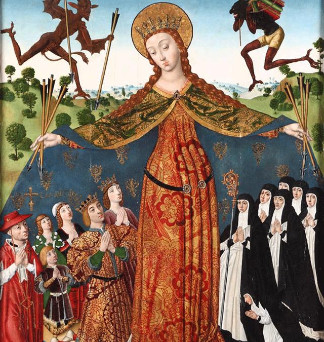 #ReinaelArte: La Virgen de la Misericordia.