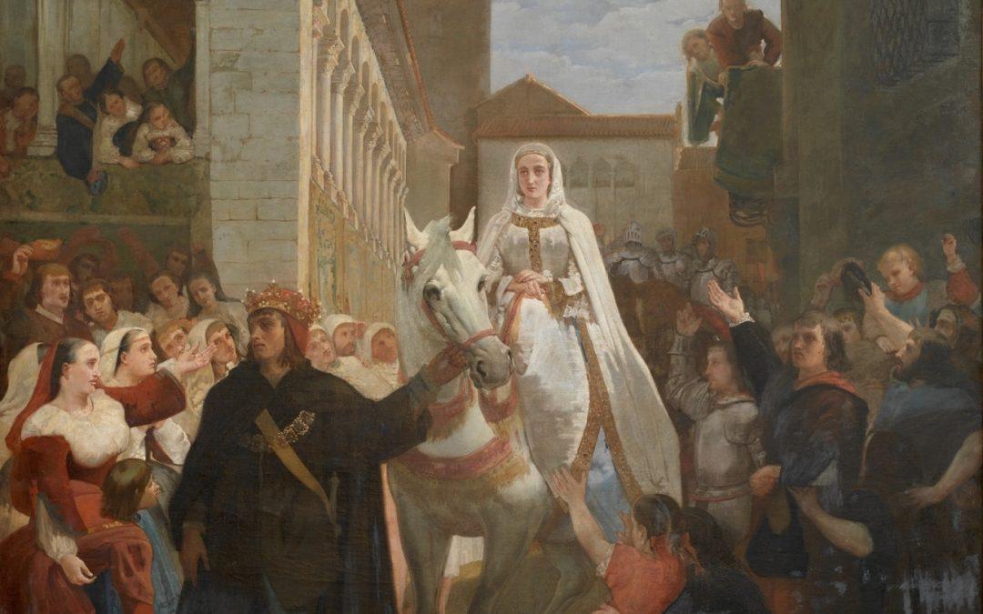 #ReinaelArte: Manifestación del rey don Enrique IV de Castilla al pueblo segoviano.