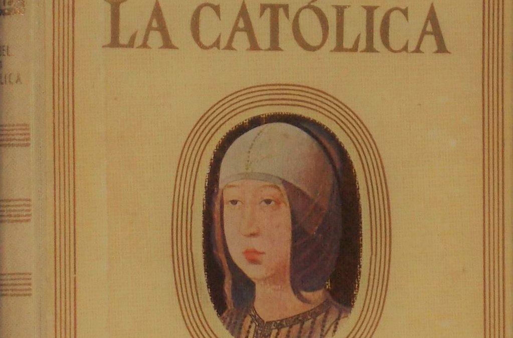 """#BibliotecaReal: Vidas de mujeres ilustres. """"Isabel la Católica"""". Luys Santa Marina. 1941."""
