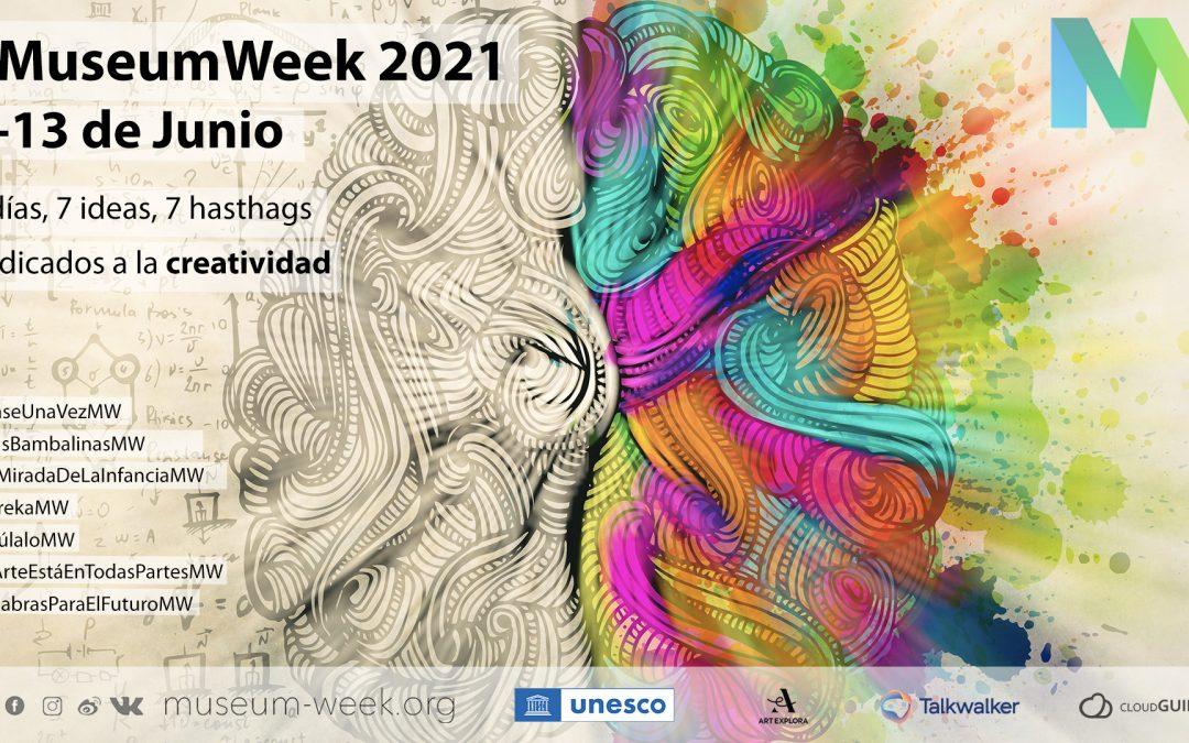 ¡Comienza la #MuseumWeek! ¿Participas con nosotros?